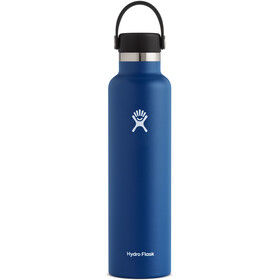 Hydro Flask Standard Mouth Drinkfles met standaard Flex Cap 709ml, cobalt